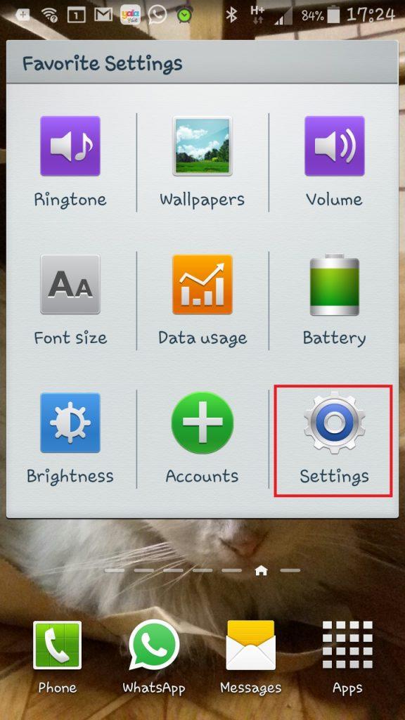 הגדרת תיבת POP3 במכשיר Android