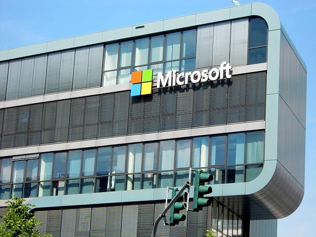 חברות מחשוב ענן – מיקרוסופט